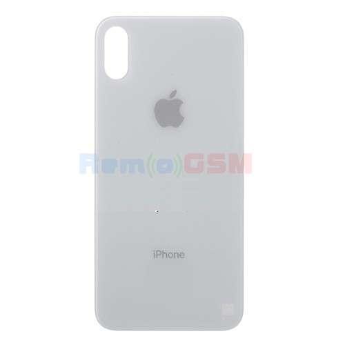 inlocuire capac sticla spate iphone xs silver a2097a1920 a2100