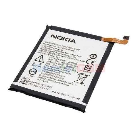 inlocuire baterie acumulator nokia 8 he328