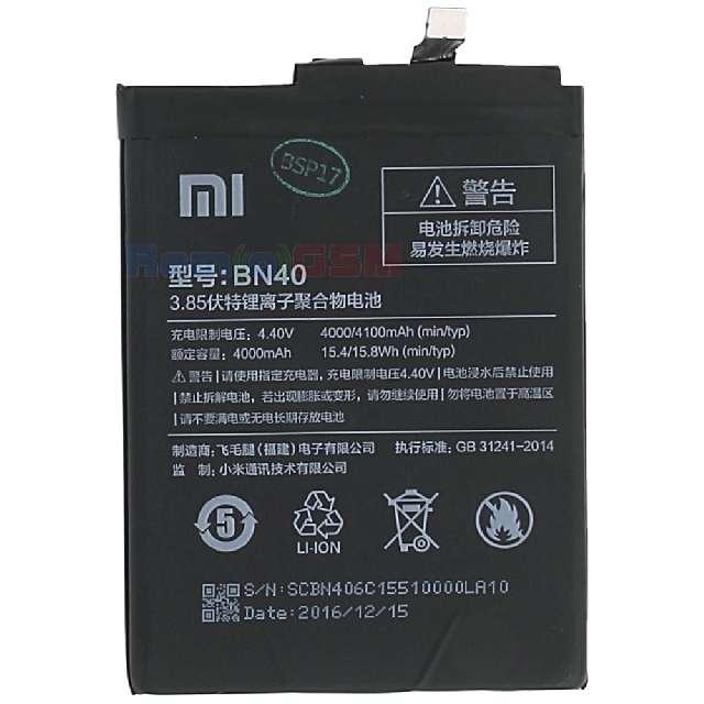 inlocuire acumulator baterie xiaomi redmi pro 4 bn40