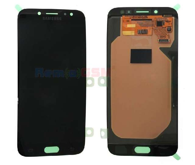 inlocuire set display touchscreen samsung sm-j730f galaxy j7 2017 black oem gh97-20736a