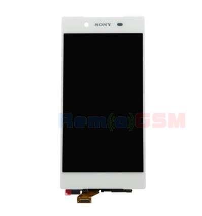inlocuire display cu touchscreen sony xperia z5 e6603 e6633 e6653 e6683 alb
