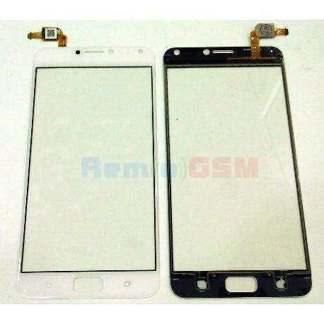 inlocuire geam touchscreen asus zenfone 4 max zc554kl alb