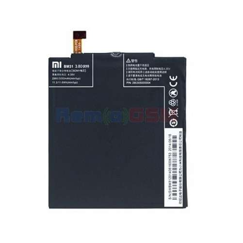 inlocuire acumulator baterie xiaomi mi3 bm31