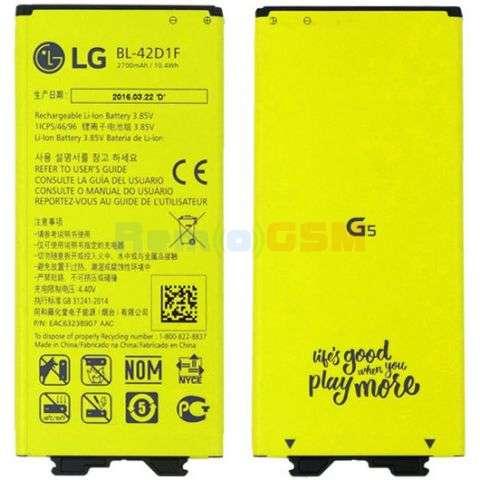 inlocuire acumulator lg g5h850 h820 h830 h860n lg bl-42d1f