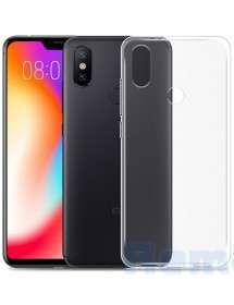 husa xiaomi redmi 6 pro silicon transparent black