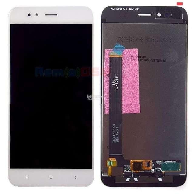 inlocuire display cu touchscreen xiaomi mi a1 alb