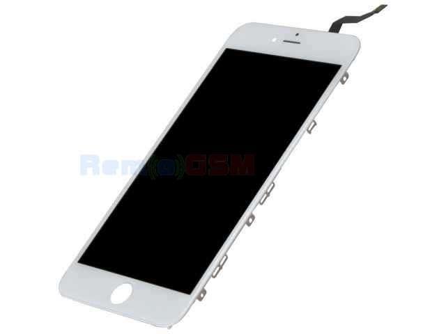 inlocuire display cu touchscreen si rama apple iphone 6s plus alb