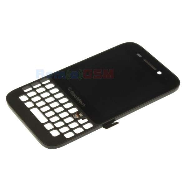 inlocuire set complet display touchscreen rama blackberry q5