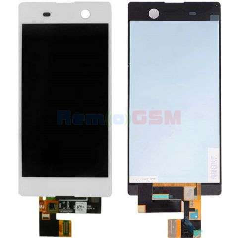 display cu touchscreen sony xperia m5 e5603 e5606 e5653 e5633 e5643 e5663 alb