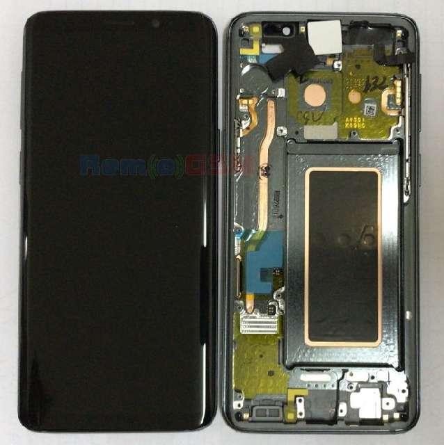schimbare display touchscreen si rama samsung sm-g960f galaxy s9 grey oem