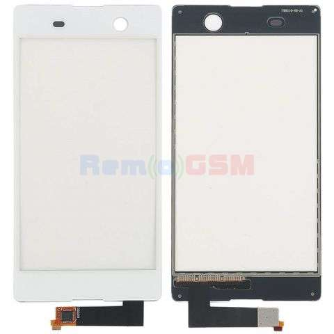 inlocuire geam touchscreen sony xperia m5 e5603 e5606 e5653 e5633 e5643 e5663 alb