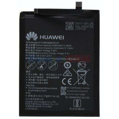 inlocuire baterie acumulator huawei hb356687ecwmate 10 litenova 2ig10 honor 7x mate se