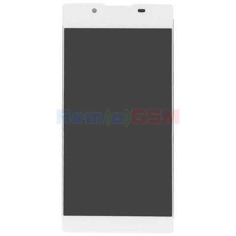 inlocuire display cu touchscreen sony g3311 g3312 g3313 xperia l1 alb