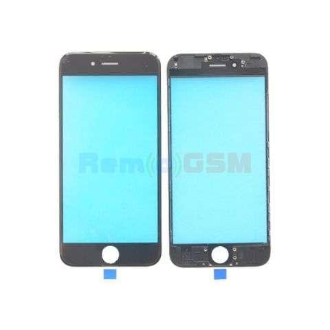 inlocuire schimbare sticla geam ecran iphone 6 plus negru
