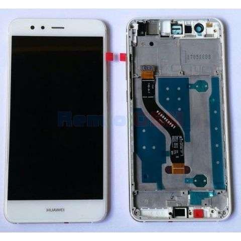 inlocuire display cu touchscreen si rama huawei mate 10 lite rne-l01 rne-l21 rne-l23 g10 nova 2i alb