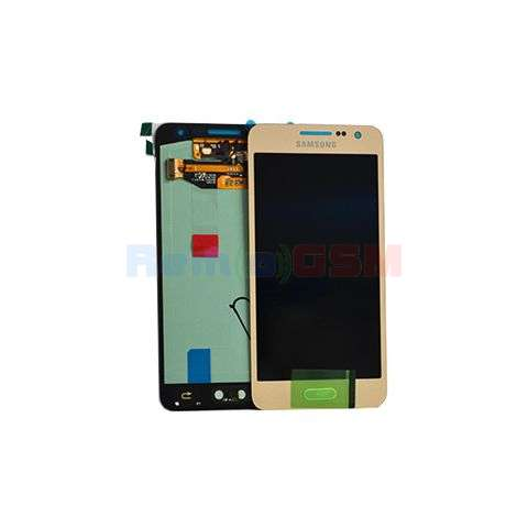 inlocuire display set complet samsung sm-a300f galaxy a3 oem gold