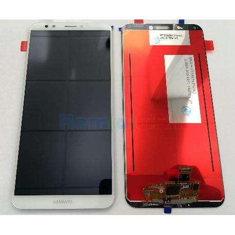 inlocuire display cu touchscreen huawei y7 prime 2018  nova 2 lite alb