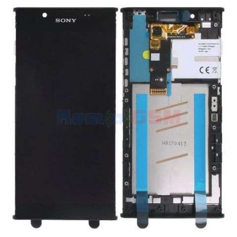 inlocuire display cu touchscreen si rama sony g3311 g3312 g3313 xperia l1
