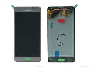 schimbare display cu touchscreen samsung galaxy alpha g850f silver oem gh97-16386e