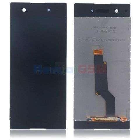 display cu touchscreen sony xperia xa1 g3121 g3123 g3125 dual g3112 g3116 negru