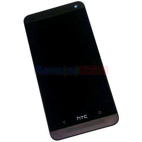 inlocuire display cu touchscreen si rama htc one dual sim 802w
