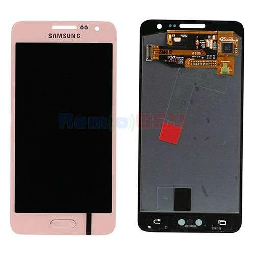 inlocuire display cu touchscreen samsung sm-a300f galaxy a3 2015 pink oem