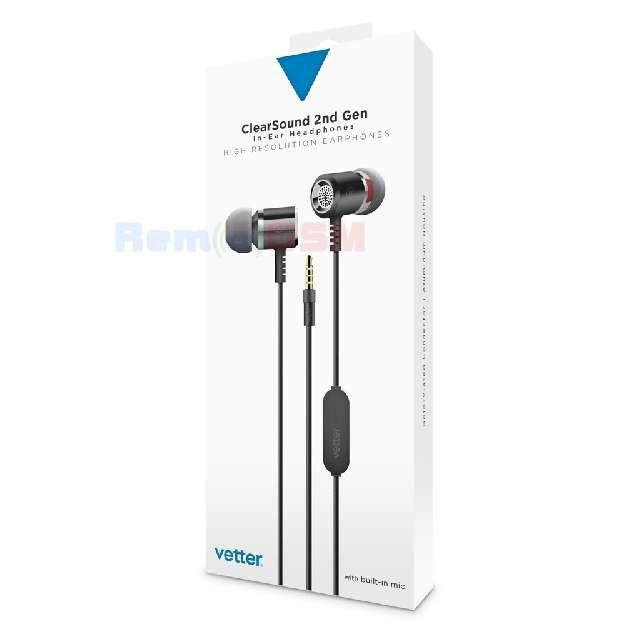 casti clearsound in-ear headphones 2nd gen handsfree