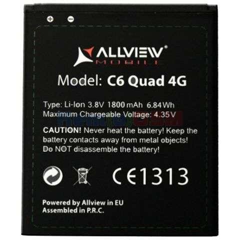 inlocuire baterie acumulator allview c6 quad 4g