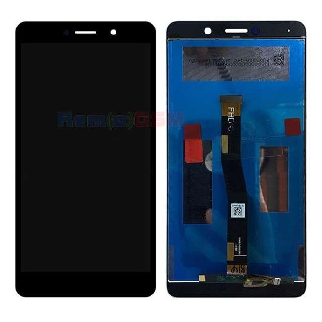 inlocuire display complet huawei honor 6x gr5 2017 negru