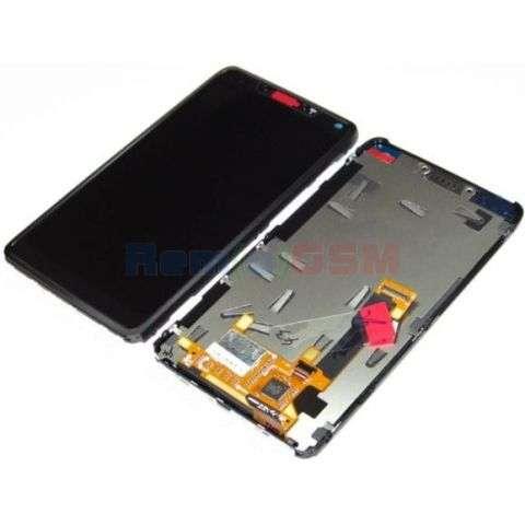 inlocuire display cu touchscreen si rama motorola xt890 razr i