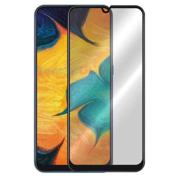 folie geam protectie 015mm samsung  galaxy a40 sm-a405 5d curved and full cover negru