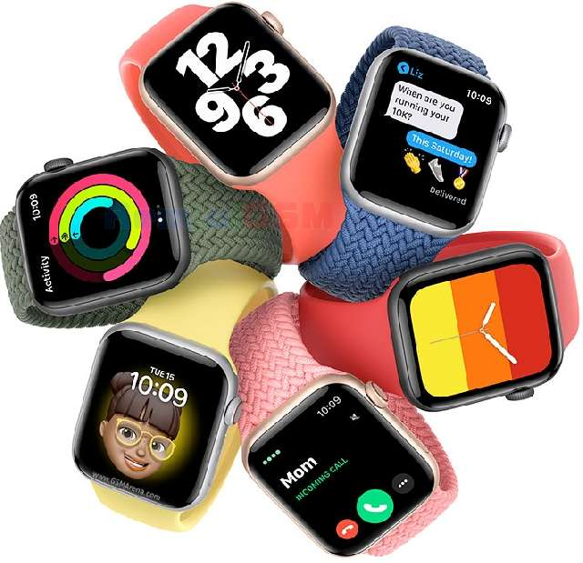 folie silicon protectie la display ceas apple watch se
