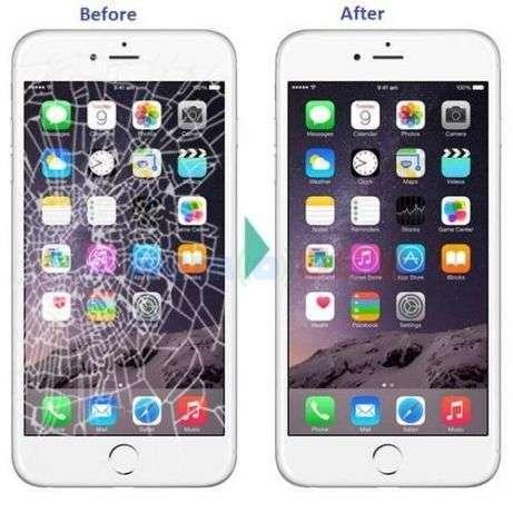 inlocuire schimbare sticla geam display iphone 7 plus pe loc buy-back