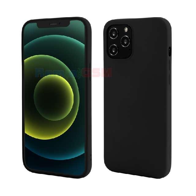 husa iphone 12 pro max vetter go soft touch black