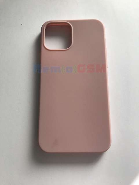 husa silicon pink roze iphone 12 pro