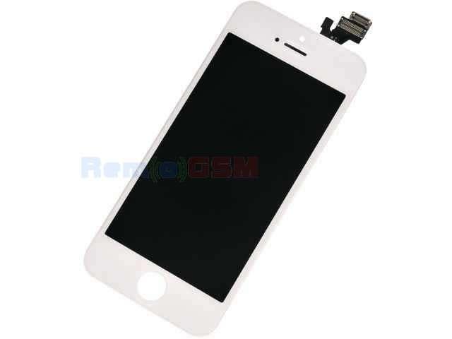 inlocuire display cu touchscreen si rama apple iphone 5