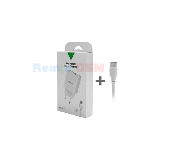 incarcator smart travel charger with type-c cable vetter go 31a