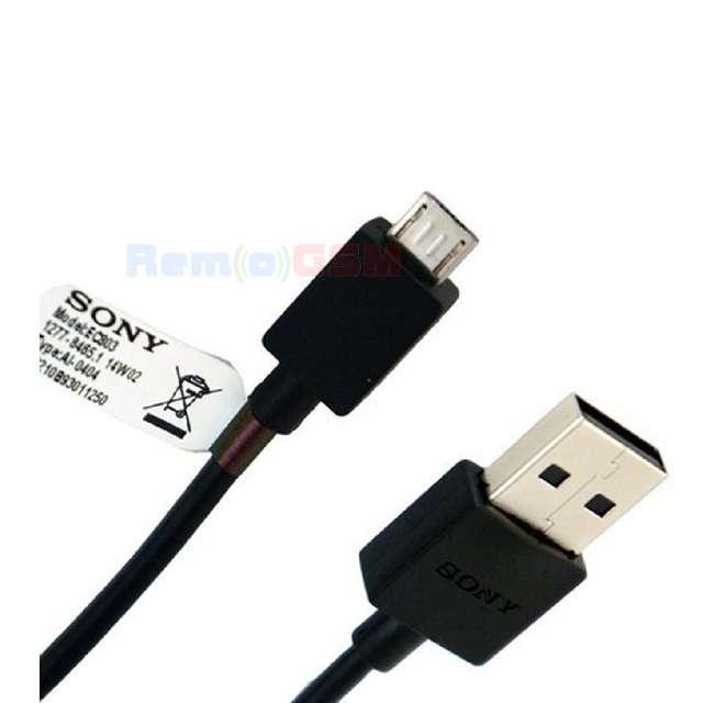 cablu date incarcare sony xperia z xperia z1 ultra ec-801 ec-803 micro usb