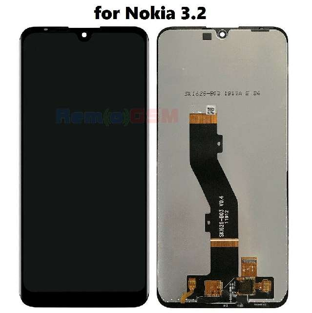 inlocuire display cu touchscreen nokia 32