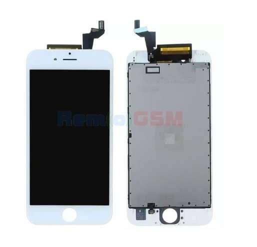 inlocuire display cu touchscreen si rama apple iphone 6s alb