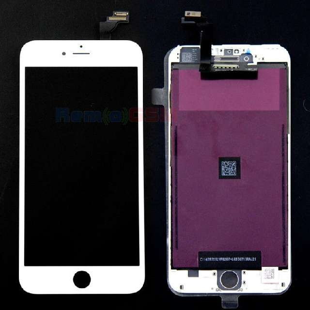 inlocuire display cu touchscreen apple iphone 6 plus alb