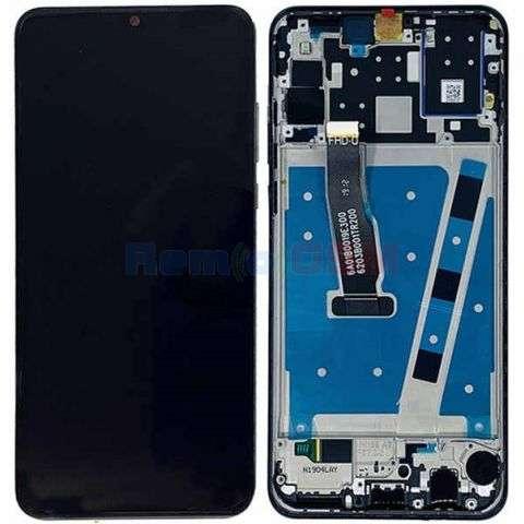 inlocuire display cu touchscreen si rama huawei p30 lite mar-l01a mar-l21a mar-lx1a
