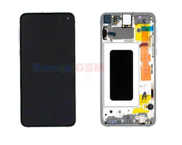 inlocuire display cu touchscreen si rama samsung sm-g970f galaxy s10e lemon oem