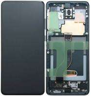 inlocuire display samsung galaxy s20 plus g985f g986b cosmic black oem
