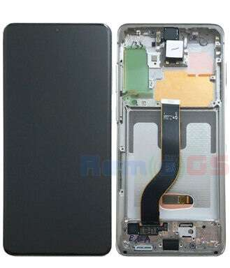 inlocuire display samsung galaxy s20 plus g985f g986b cosmic grey oem