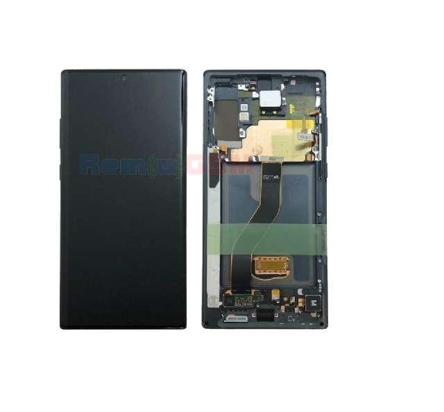 inlocuire display complet samsung n975 n976 galaxy note 10 plus 5g aura black oem service pack