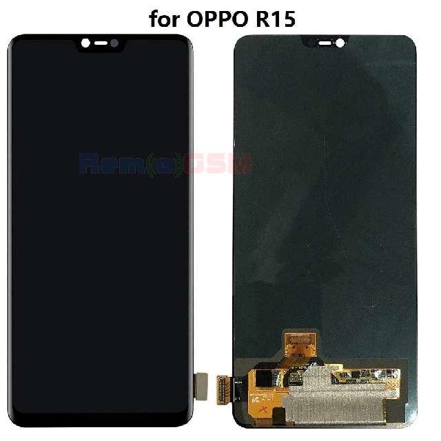 inlocuire display touchscren complet oppo r15
