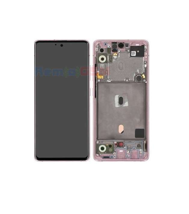 inlocuire ecran display samsung galaxy a51 5g a516 a51 5g 2020 pink service pack