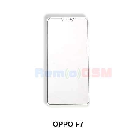 inlocuire geam sticla ecran la display oppo f7 alb