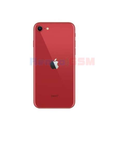 inlocuire sticla spate carcasa capac iphone se 2020a2296 a2275 a2298 red